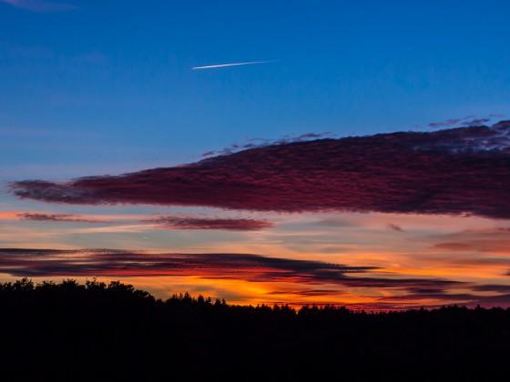 Sonnenuntergang_Flugzeug1