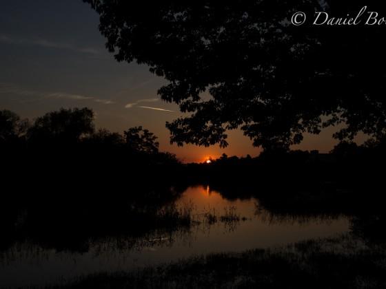 Sonnenuntergang Aschaffenburg