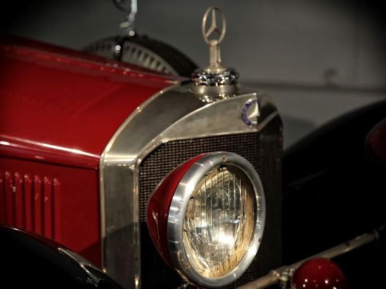 Mercedes SSK....