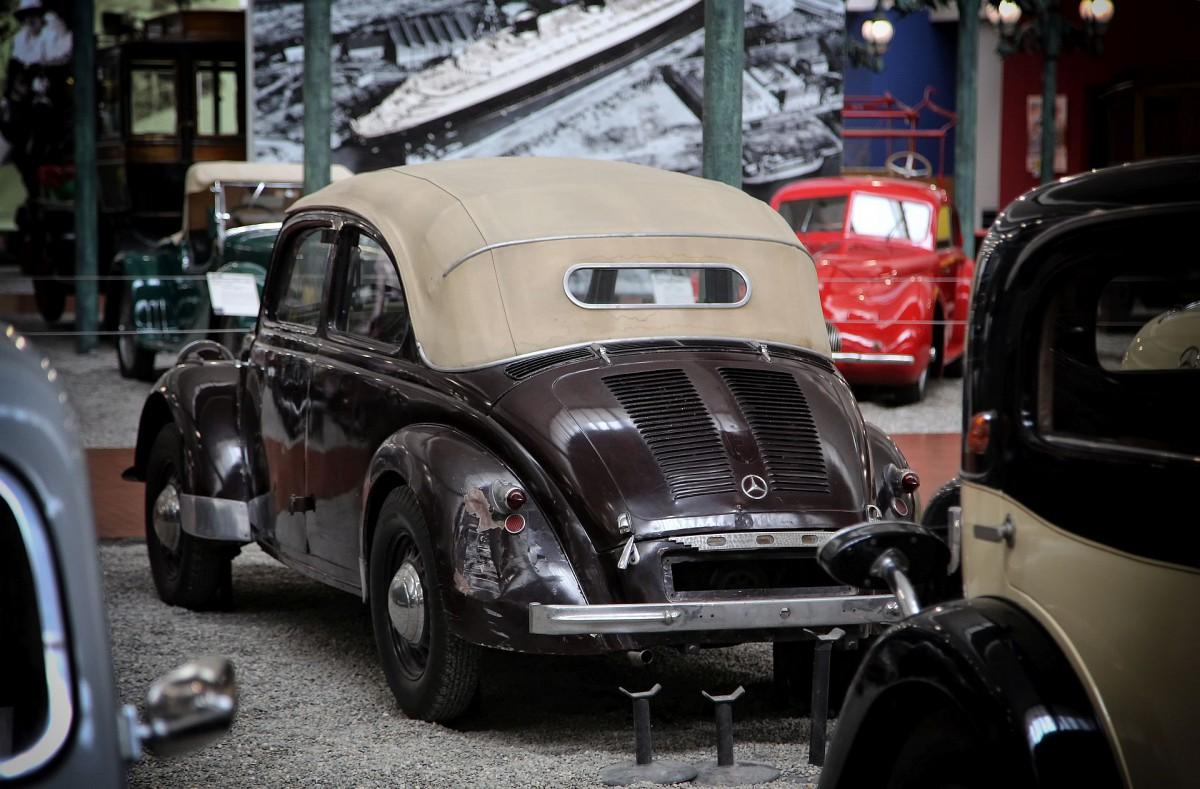 Der erste Käfer, der ein Mercedes war......